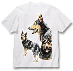 Australian Cattle Dog - T Shirt - Best Friends