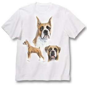 Boxer, Cropped - T Shirt - Best Friends