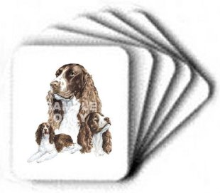 Springer Spaniel - Computer Mouse Pad
