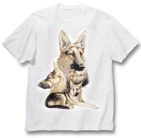 German Shepherd - T Shirt - Best Friends