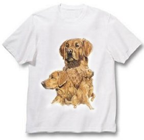 Golden Retriever - T Shirt - Best Friends
