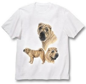 Chinese Shar-Pei - T Shirt - Best Friends