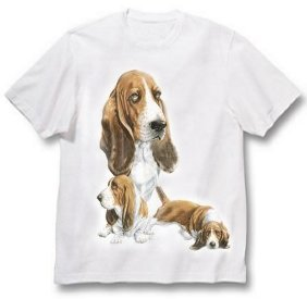 Basset Hound - T Shirt - Best Friends