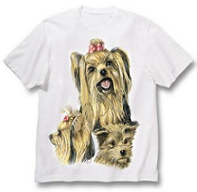 Yorkshire Terrier - T Shirt - Best Friends