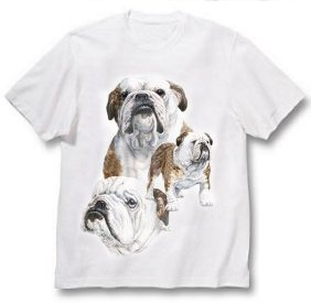 Bulldog, English - T Shirt - Best Friends