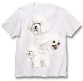 Bichon Frise - T Shirt - Best Friends