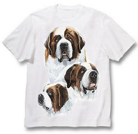 Saint Bernard - T Shirt - Best Friends
