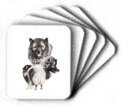 Keeshond - Computer Mouse Pad