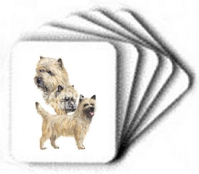 Cairn Terrier - Computer Mouse Pad