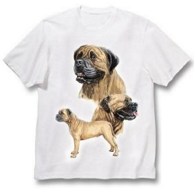 Bullmastiff - T Shirt - Best Friends