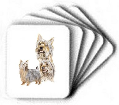 Silky Terrier - Computer Mouse Pad