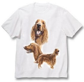 Irish Setter - T Shirt - Best Friends