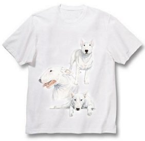 Bull Terrier - T Shirt - Best Friends