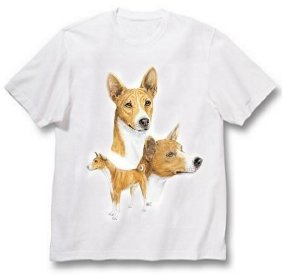 Basenji - T Shirt - Best Friends