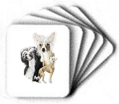 Chinese Crested - Computer Mouse Pad