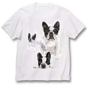 French Bulldog - T Shirt - Best Friends
