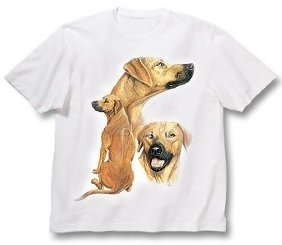 Rhodesian Ridgeback - T Shirt - Best Friends