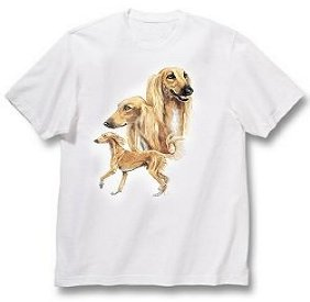 Saluki - T Shirt - Best Friends