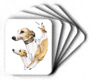 Whippet - Computer Mouse Pad