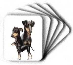 Manchester Terrier - Computer Mouse Pad