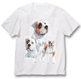 Bulldog, American - T Shirt - Best Friends