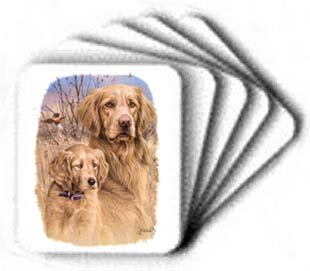 Golden Retriever - Mouse Pad