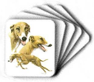 Greyhound - Computer Mouse Pad - Profile