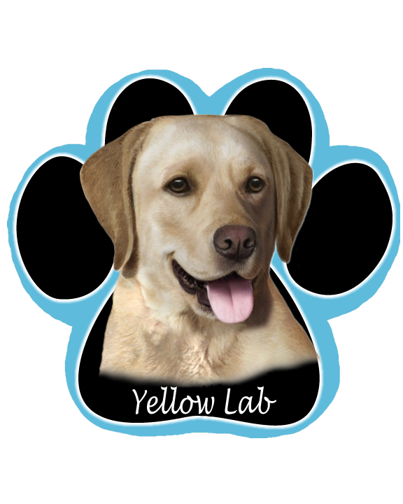 Labrador, Yellow - Computer Mousepad