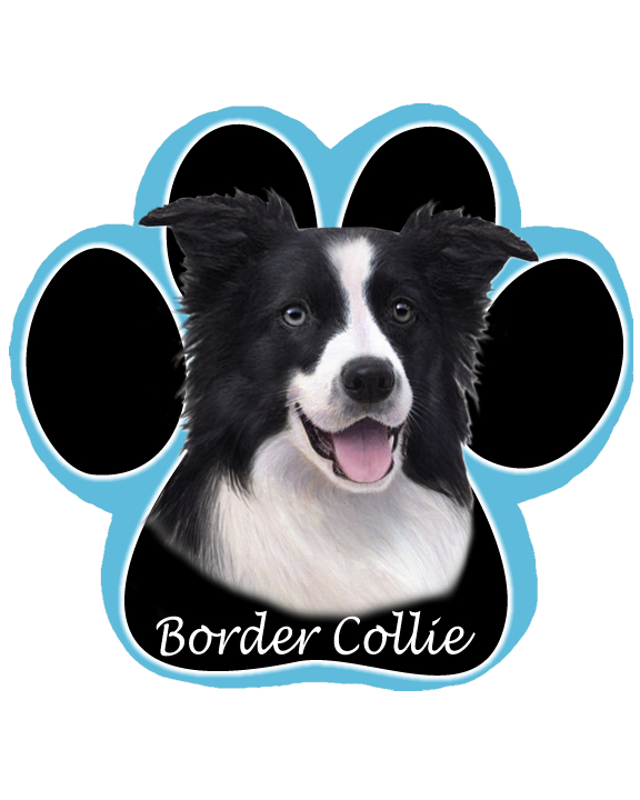 Border Collie - Computer Mousepad