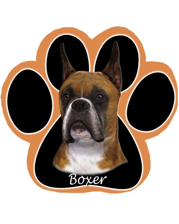 Boxer, Cropped - Computer Mousepad