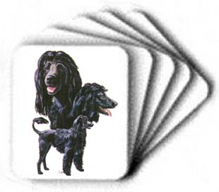 Portuguese Water Dog - Computer Mouse Pad