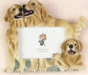 "Golden Retriever - Dog Photo Frame 4"" x 6"""