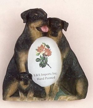 "Rottweiler - Dog Photo Frame 2"" x 3"""