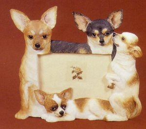 "Chihuahua, Fawn - Dog Photo Frame 4"" x 6"""