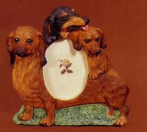 "Dachshund, Brown - Dog Photo Frame 3 1/2"" x 5"""
