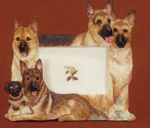 "German Shepherd - Dog Photo Frame 4"" x 6"""