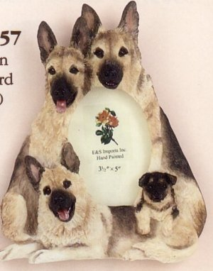 "German Shepherd - Dog Photo Frame 3 1/2"" x 5"""