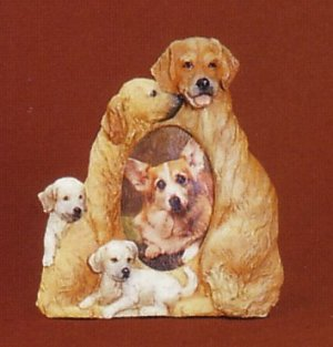 "Golden Retriever - Dog Photo Frame 2"" x 3"""