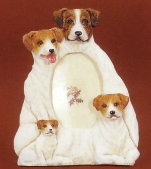 "Jack Russell - Dog Photo Frame 3 1/2"" x 5"""