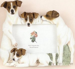 "Jack Russell - Dog Photo Frame 4"" x 6"""