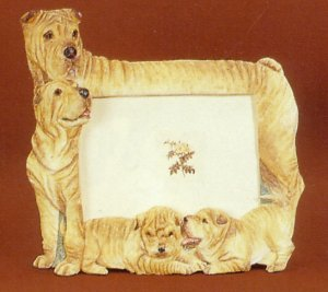 "Chinese Shar-Pei - Dog Photo Frame 4"" x 6"""
