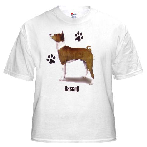 Basenji - T Shirt - Profile