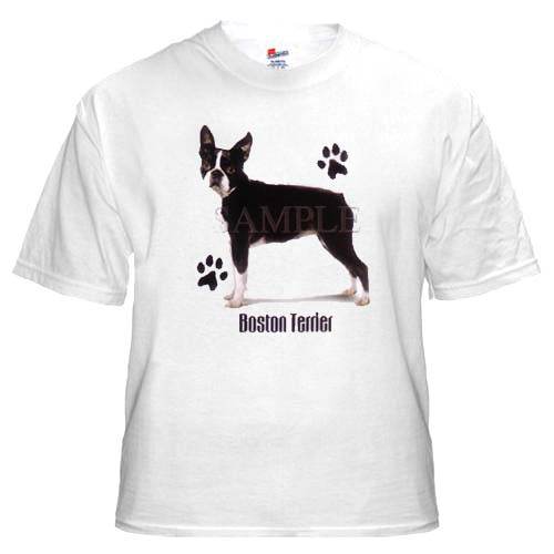 Boston Terrier - T Shirt - Profile