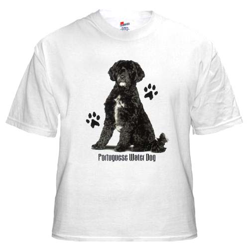 Portugese Water Dog - T Shirt - Profile