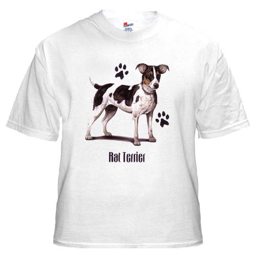 Rat Terrier - T Shirt - Profile