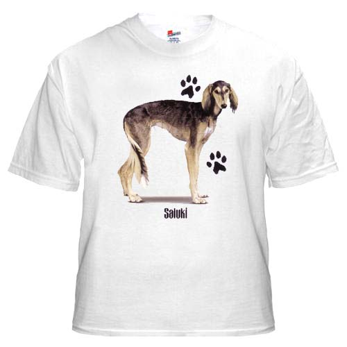 Saluki - T Shirt - Profile