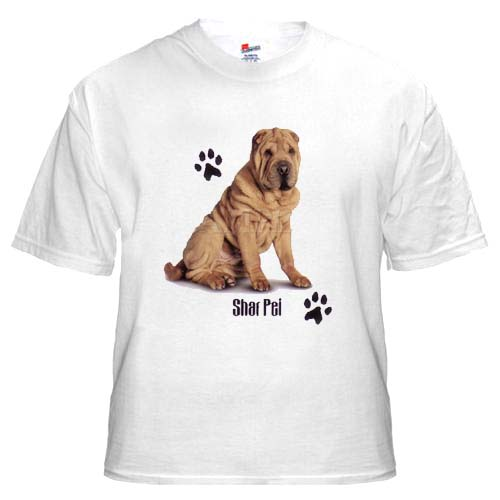 Chinese Shar-Pei - T Shirt - Profile
