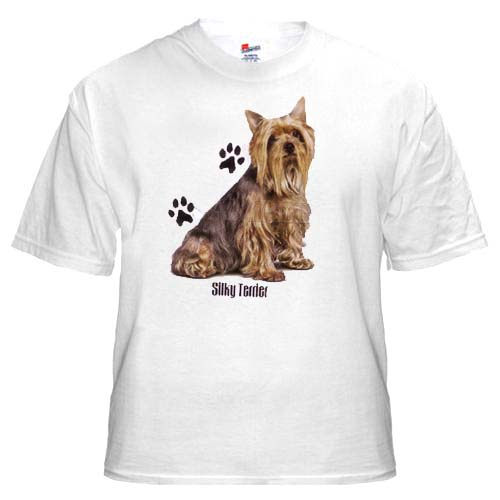 Silky Terrier - T Shirt - Profile